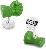 Marvel Silver-Plated 3D Hulk Fist Cufflinks