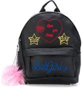Chiara Ferragni embroidered backpack
