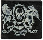 Alexander McQueen Coat of Arms Billfold Wallet