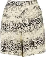 Biba Snake print high waisted shorts