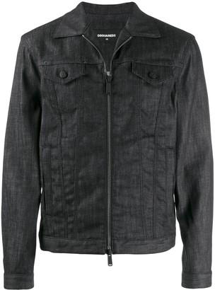 DSQUARED2 zipped denim jacket