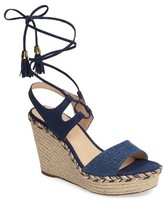 Klub Nico Women's Vaira Lace-Up Espadrille Wedge