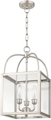 Livex Lighting Livex Milford 3-Light Bn Chain Hang/Ceiling Mount