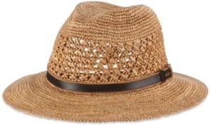 Scala Dorfman Pacific Men's Crocheted Safari Hat