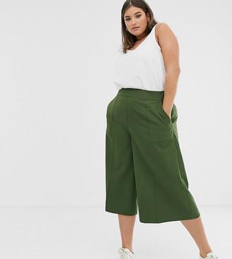 Asos DESIGN Curve tailored clean culottes