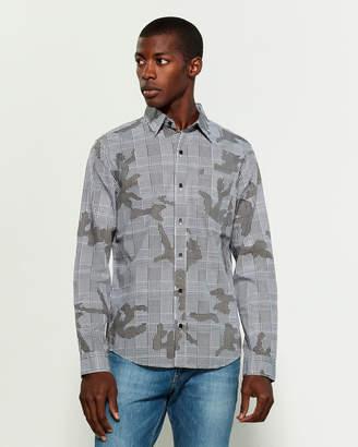DKNY Prince Of Wales Camo Shirt