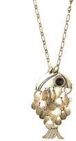 MANGO Fish pendant necklace