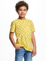 Old Navy Printed Crew-Neck Tee for Boys