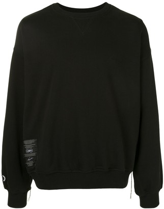 SONGZIO Ghost embroidered motif sweatshirt