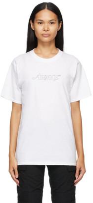 Awake NY White Classic Outline Logo T-shirt