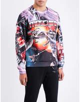 Moschino Transformers-print Jersey Sweatshirt