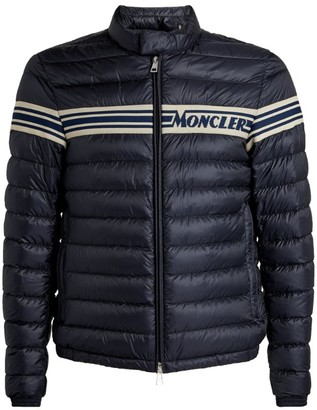 Moncler Renald Logo-Stripe Padded Jacket