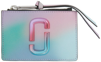 Marc Jacobs Multicolor The Snapshot Airbrush 2.0 Wallet