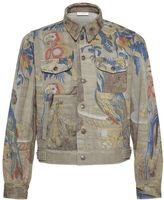 Dries Van Noten Parrot Print Jacket