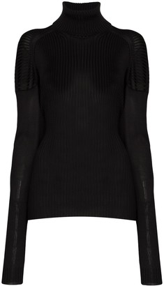 Bottega Veneta ribbed roll-neck sweater