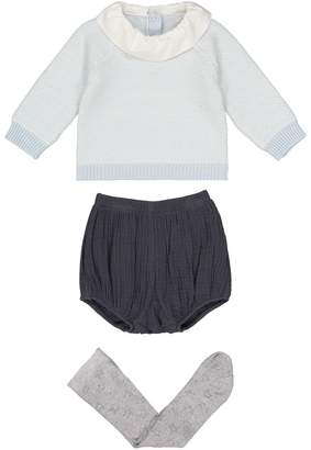 La Redoute Collections 3-Piece Outfit, Birth-3 Years