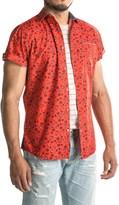Drill Printed Woven Shirt - Short Sleeve (For Men)