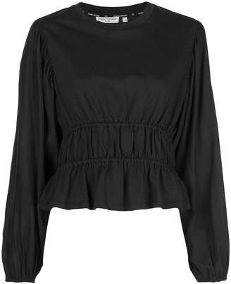 Opening Ceremony silk long sleeve top