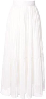 Bambah High-Waisted Pleated Skirt