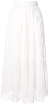 Bambah High-Waisted Pleated Skirt