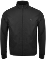 Fred Perry Bonded Zip Through Jacket Black