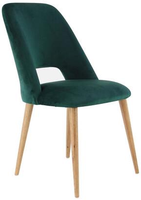 Uma Enterprises Wood Fabric Dining Chair
