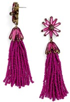 BaubleBar Women's Monet Tassel Drop Earrings