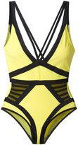 Moeva - Elle swimsuit - women - Polyamide/Spandex/Elastane - XS