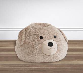 Pottery Barn Kids Labradoodle Faux Fur Anywhere Beanbag Slipcover Only