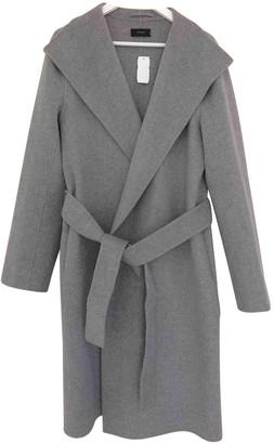 Joseph Grey Wool Coat for Women