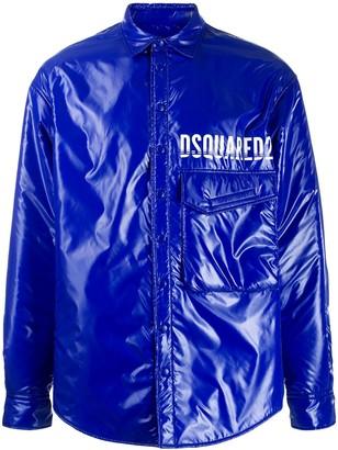 DSQUARED2 Padded Logo Jacket