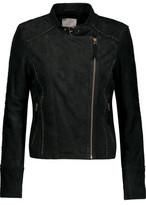 Joie Badru Embellished Suede Biker Jacket