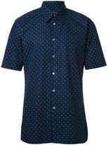 Jil Sander polka dot print shirt - men - Cotton - 42
