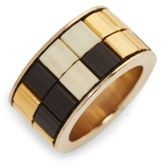 Givenchy Geometric Mosaic Ring