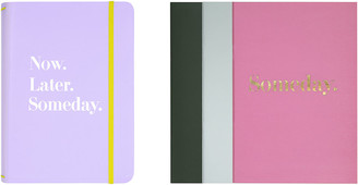 Kate Spade Colourblock Notebook - Set of 3