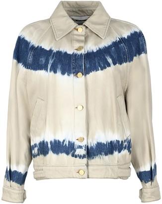 Alberta Ferretti Tie-dye Denim Jacket