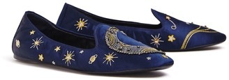 Tory Burch OLYMPIA EMBROIDERED LOAFER