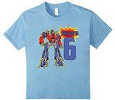 Kids Robot Kid, Cute 6th Birthday Robots T-Shirt for Boys, Girls