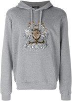 Dolce & Gabbana crest hoodie