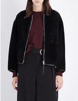 Pringle Cocoon-style sheepskin jacket