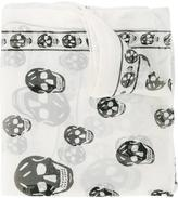 Alexander McQueen Chiffon Skull Scarf - women - Silk - One Size
