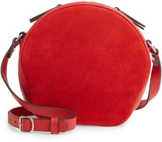 Treasure & Bond Shelby Round Leather Crossbody Bag