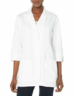 Cherokee Women's Professional Whites with Certainty 30 Inch 3/4 Sleeve Lab Coat