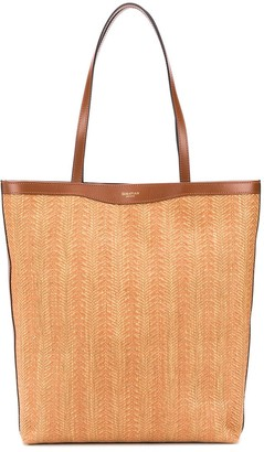 SERAPIAN Tasche square tote bag