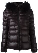 Duvetica fur trim padded jacket