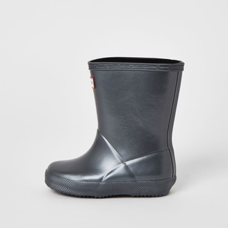 Hunter River Island Kids Black wellies