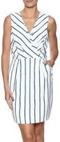 Adelyn Rae Striped Sheath Dress