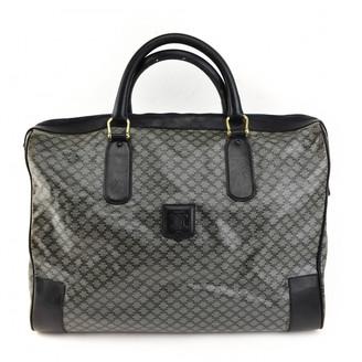 Celine Navy Cloth Travel bags