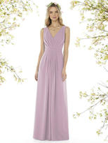 Social Bridesmaids by Dessy - 8157 Dress In Suede Rose