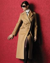 Katherine kelly cashmere long coat